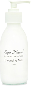 super natural organic cleansing milk