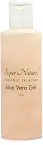 super natural organic skincare aloe vera skin soothing gel