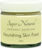 super natural organic skincare nourishing skin food
