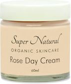 super natural organic skincare rose day cream